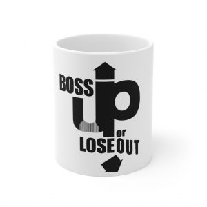Bossed up academy mug